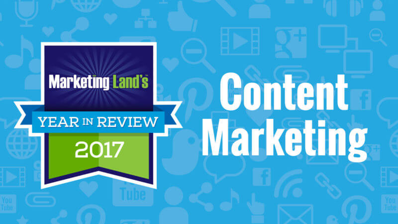 Multimedia and how to get it out there: Our top 10 Content Marketing columns of 2017