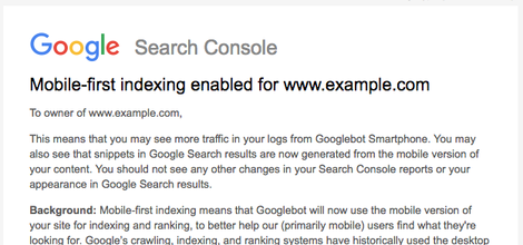 Google's mobile-first indexing is finally rolling out: Here's what you need to know