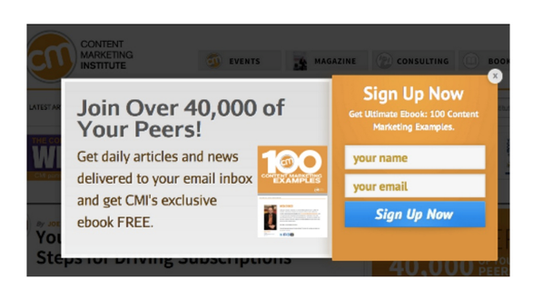 6 top tips on how to grow your subscriber list using pop-ups and lightboxes