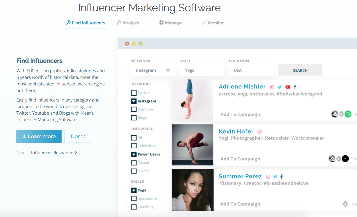 The Top 10 Platforms for Effectively Managing Social Influencers