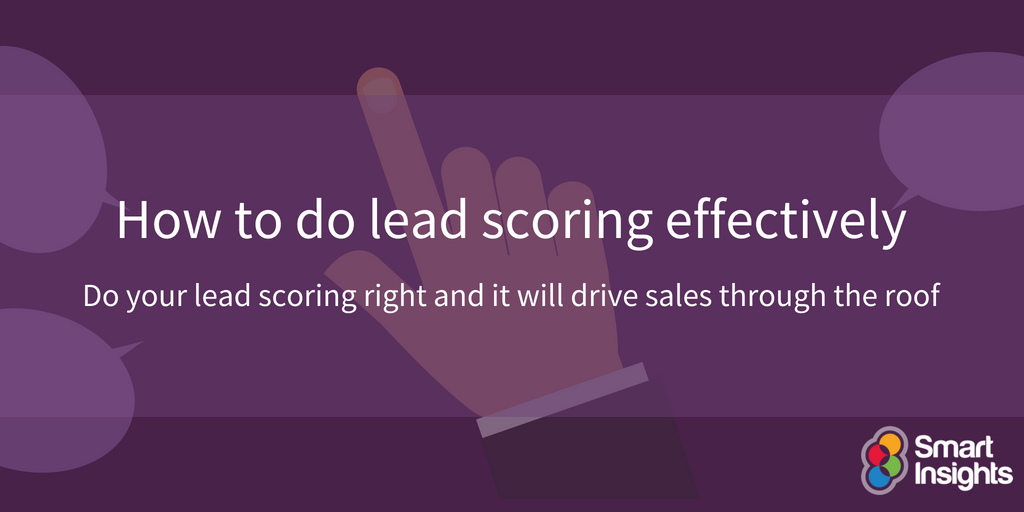 How to do lead scoring effectively