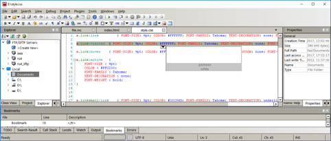 Free Development tool – PHP, HTML, CSS, JavaScript editor – CodeLobster IDE