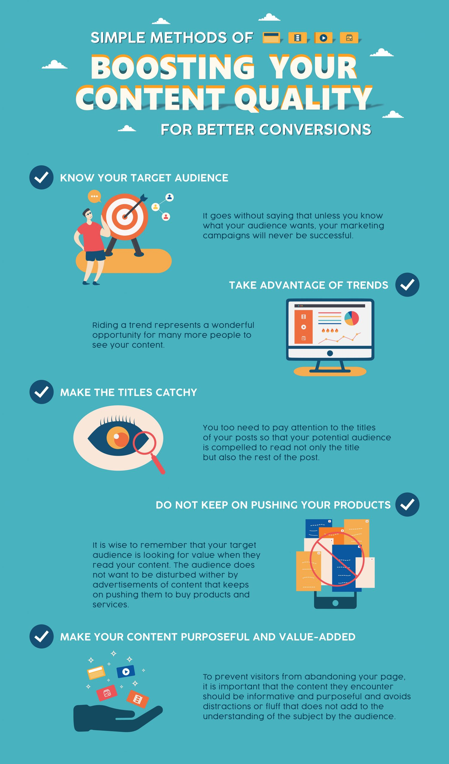 How to boost your content quality [infographic]