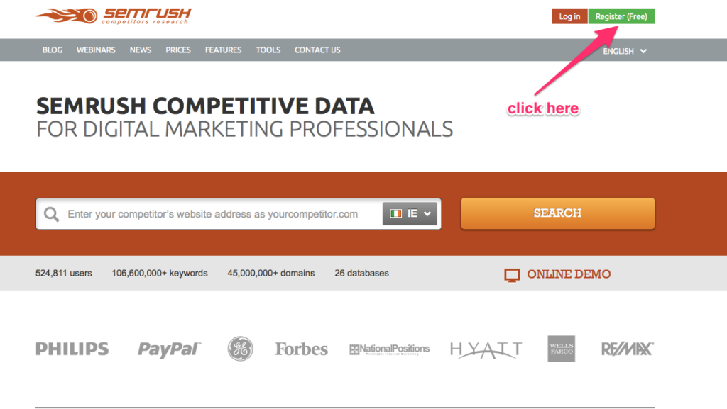 How to use SEMrush to improve your SEO
