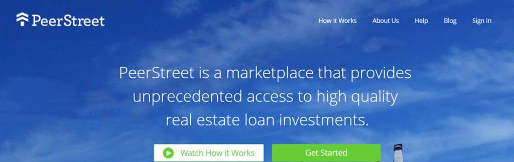 Peerstreet Homepage