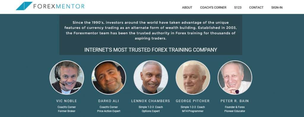 Forex Mentor Homepage