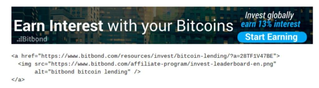 Bitbond Interest With Bitcoins