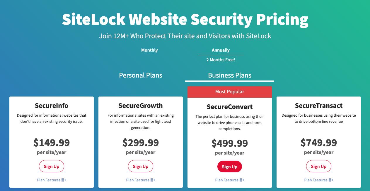SiteLock Review 2020