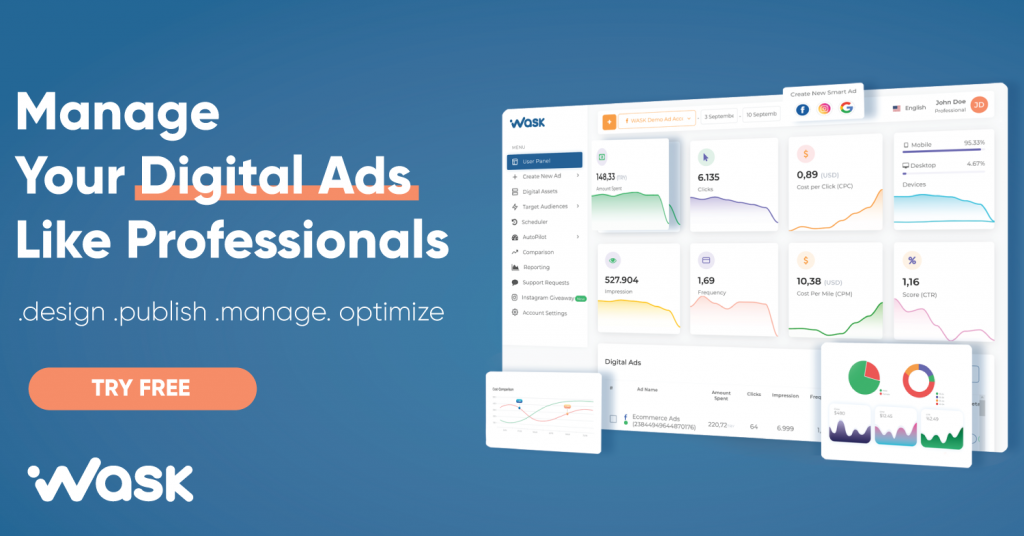 WASK(All-In-One Digital Ads Software)