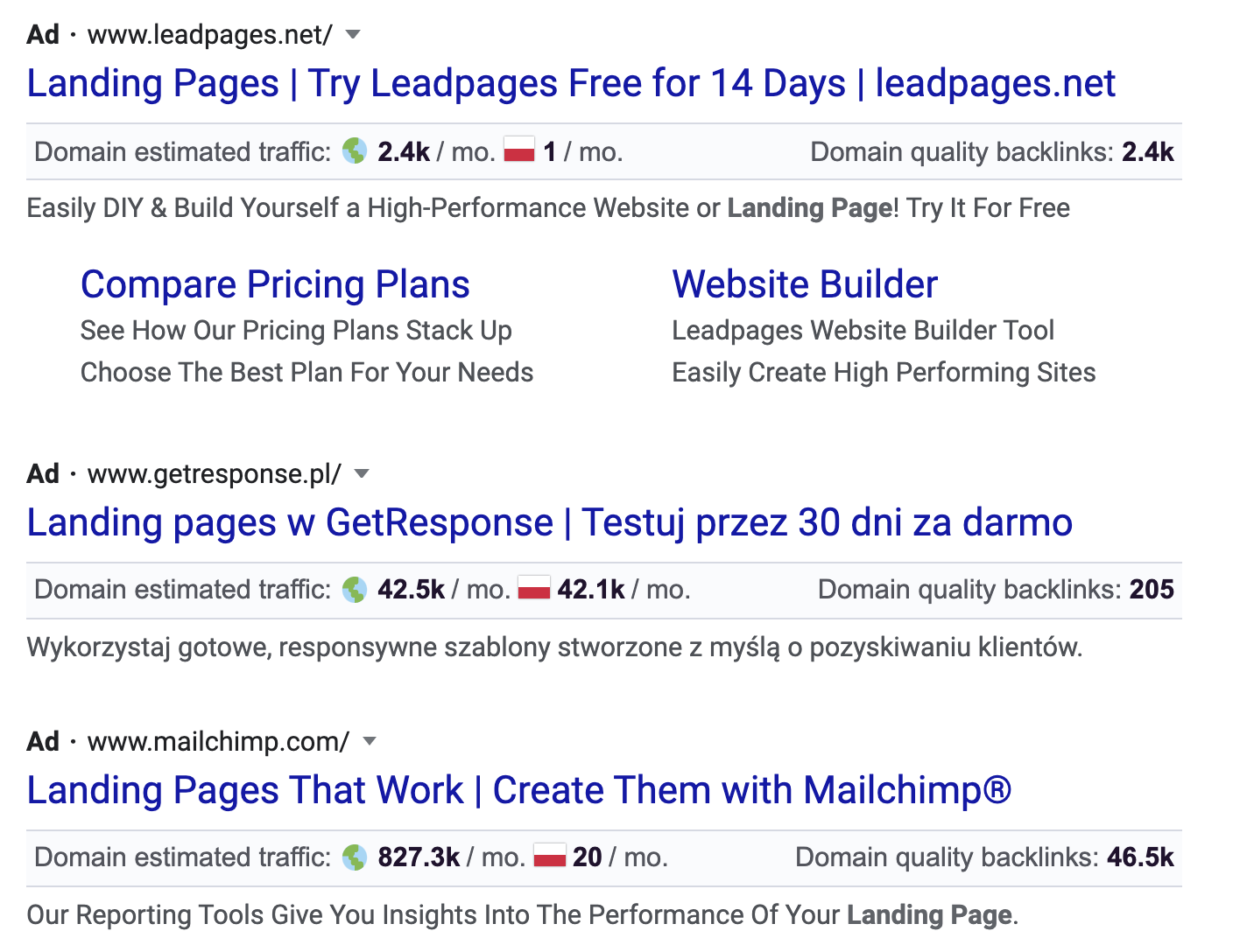 Home Or Away – Landing Page Or Home Page?
