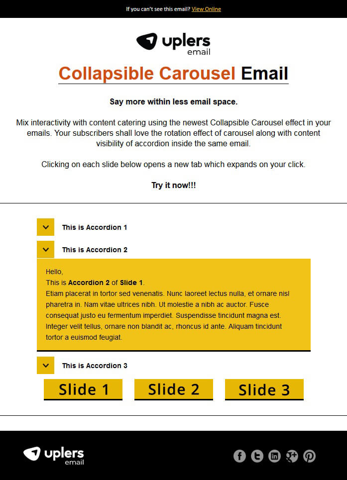 10 Awesome Ways to use Interactivity and Woo your Email Subscribers