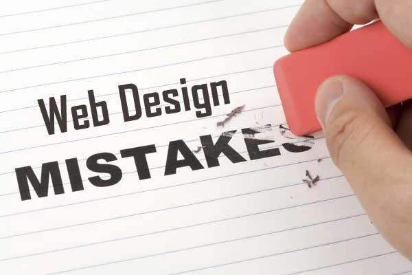Common Website Design Mistakes