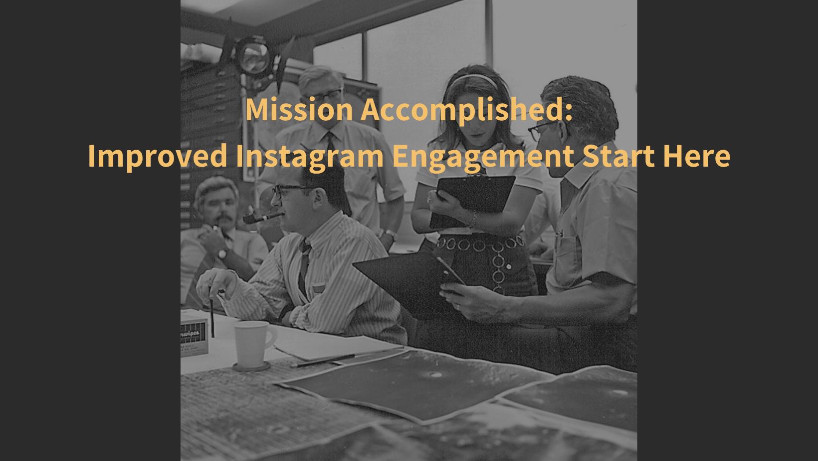 Improved Instagram Engagement