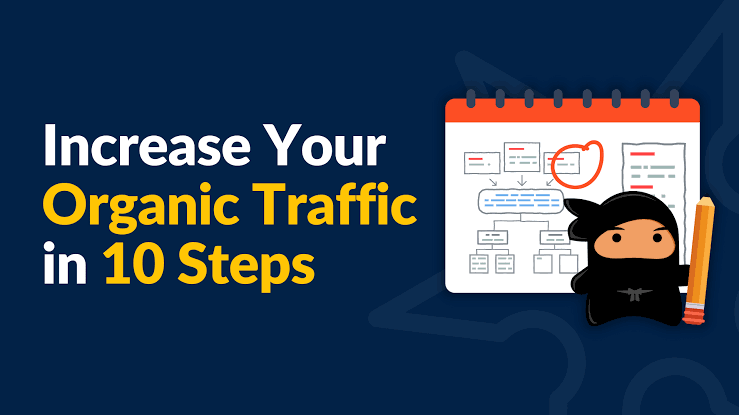 Increase Organic Traffic for Your Website in 10 Steps!