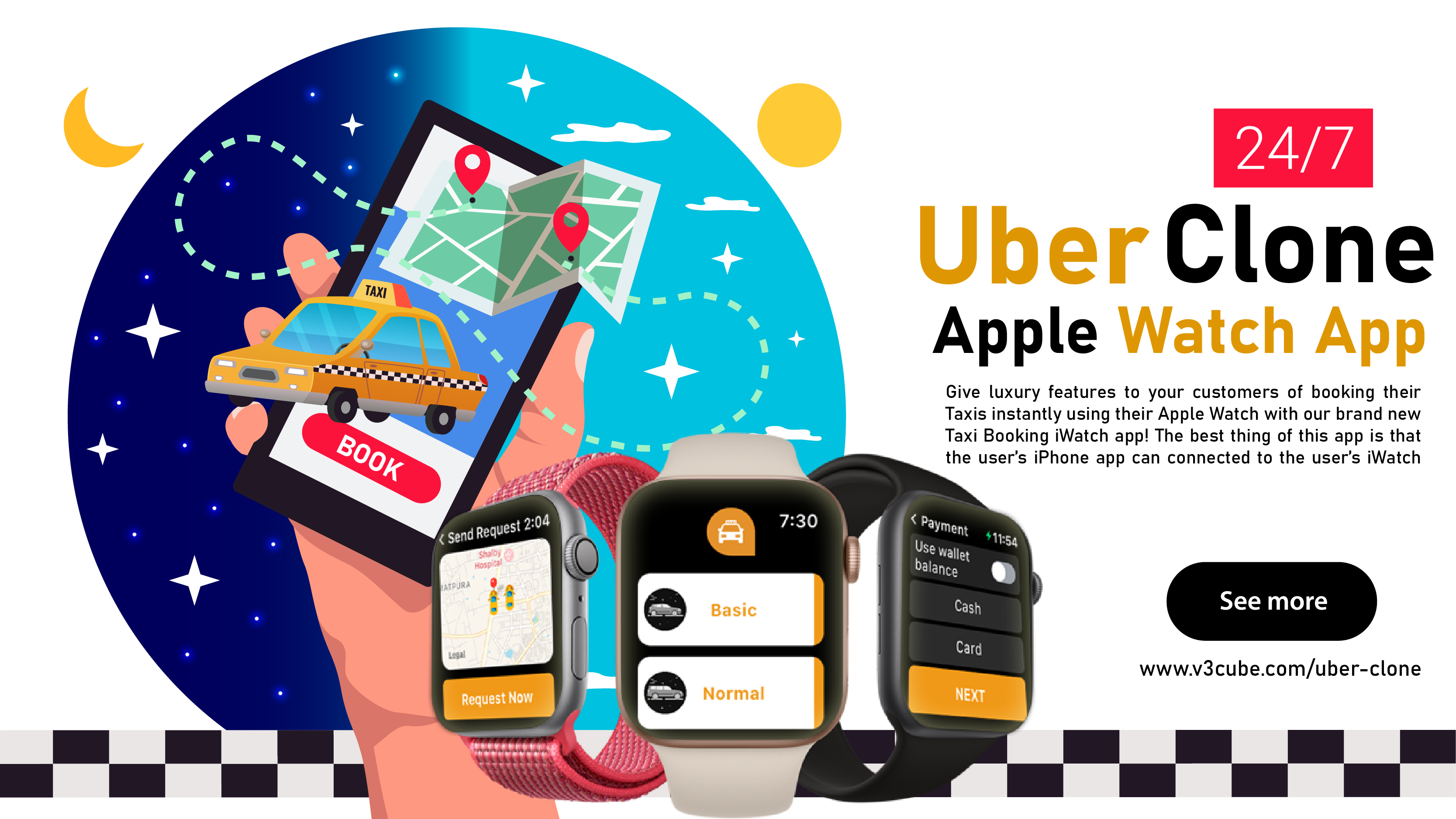 Launch Custom Premier Uber Clone App To Review The Wide Spectrum Of The Users